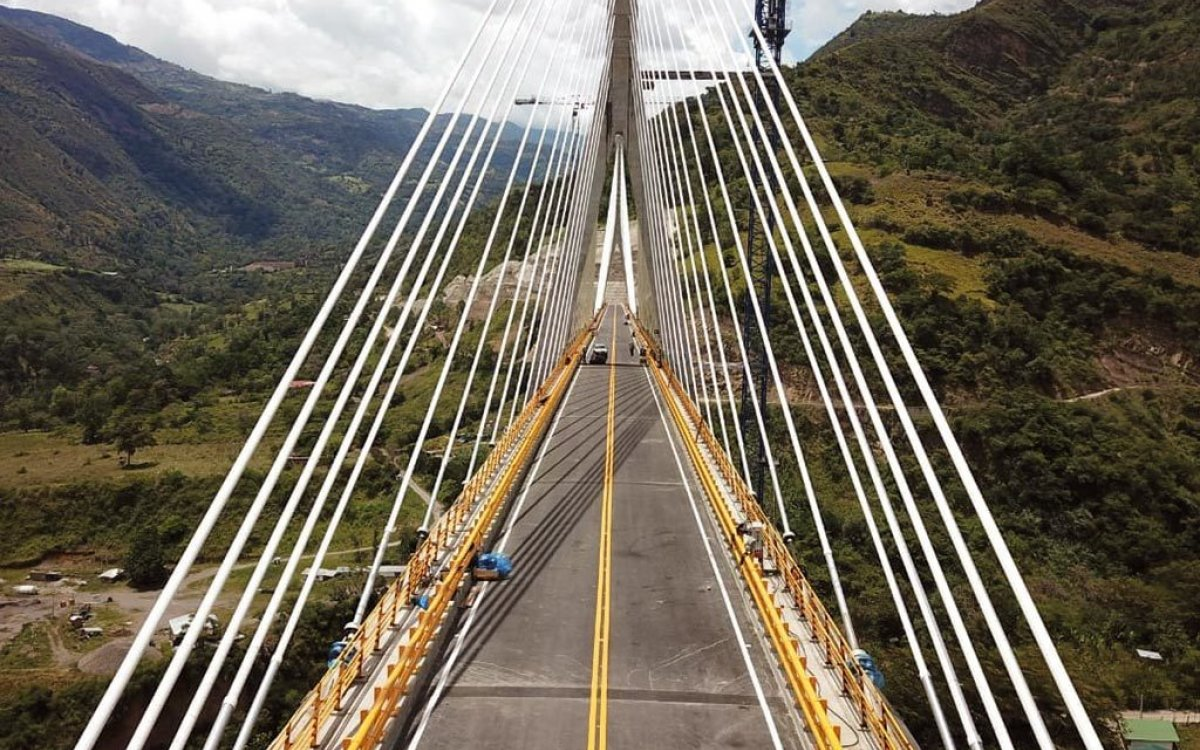 Hisgaura Cable-Stayed Bridge is close to completion