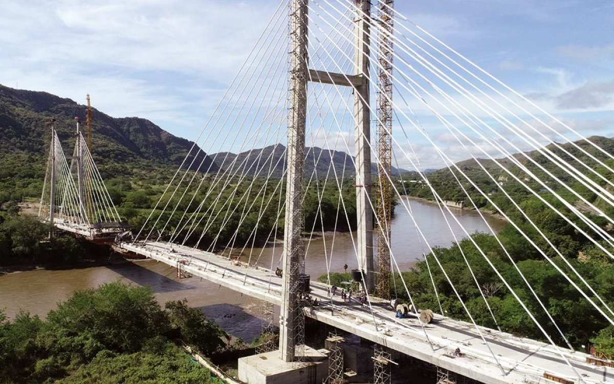 Honda Cable-Stayed Bridge update
