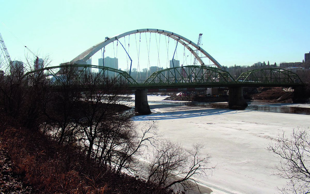 Demolition Engineering for Old Walterdale Bridge, Edmonton AB