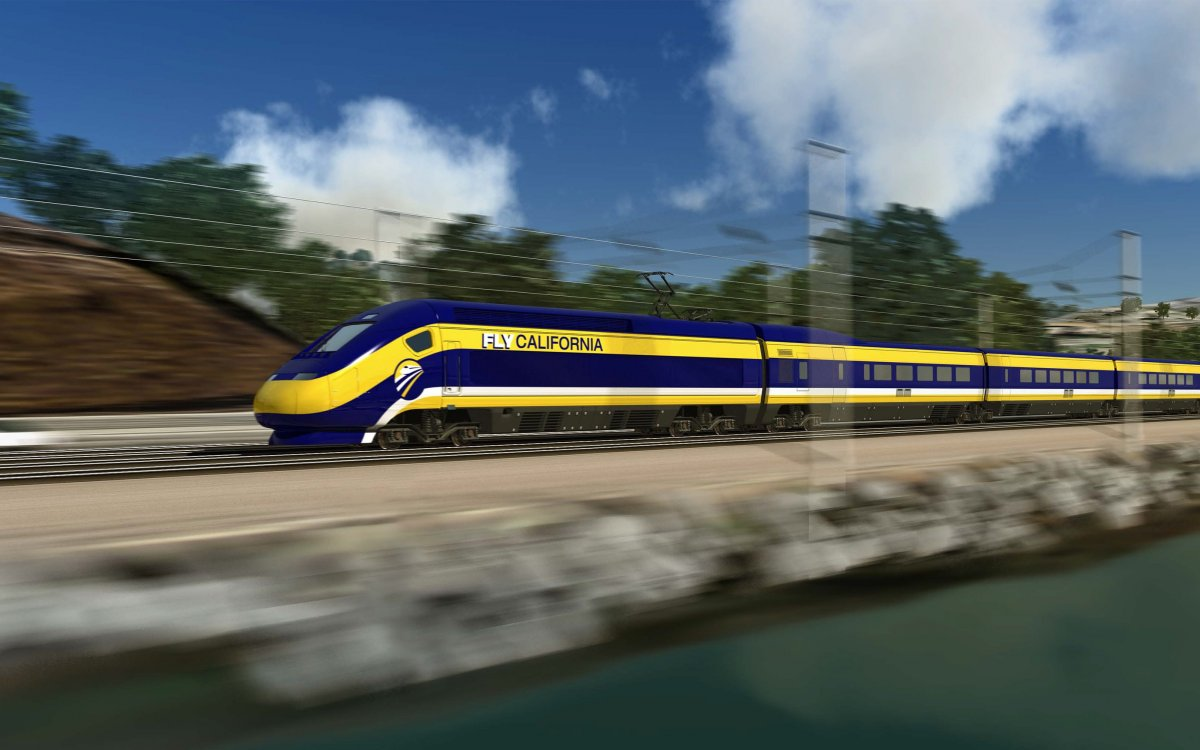 California HSR Project - CP1