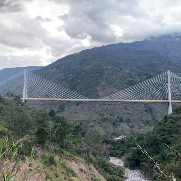 Hisgaura Cable-Stayed Road Bridge