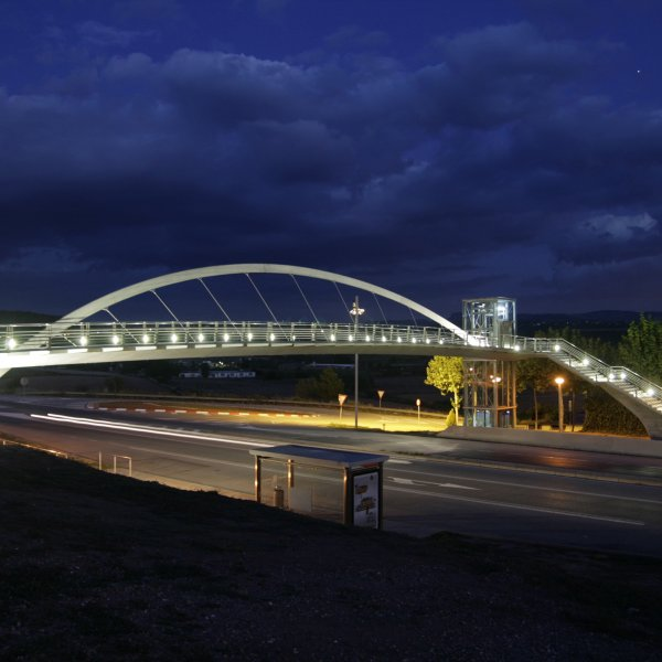 Sant Fruitós Pedestrian Bridge