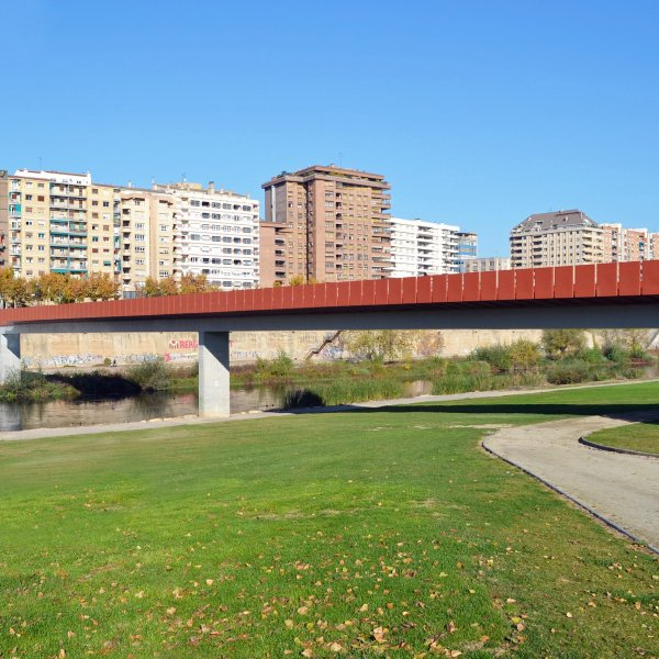 Lleida Pedestrian Bridge over the Segre River