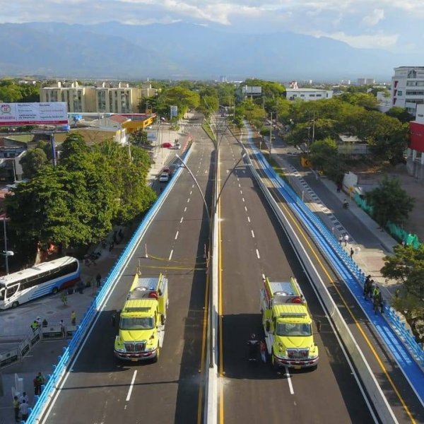 La Toma Urban Bridge in Neiva