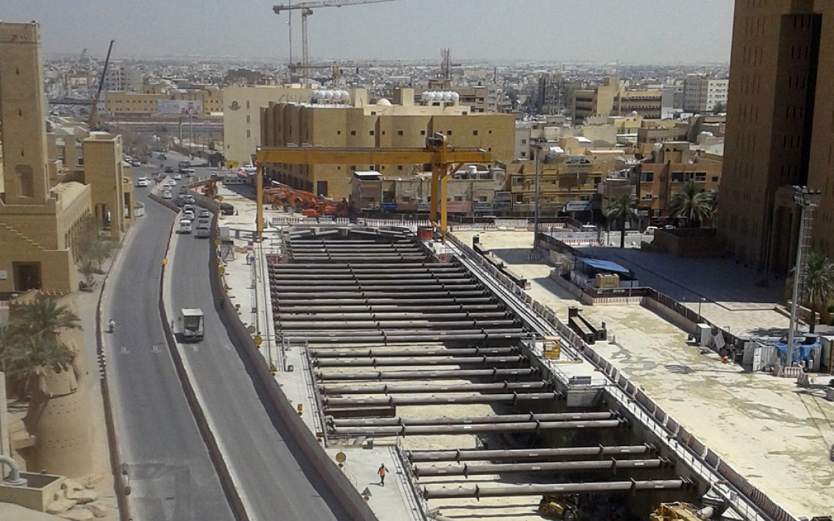 Two stations for Riyadh's Metro Line 3