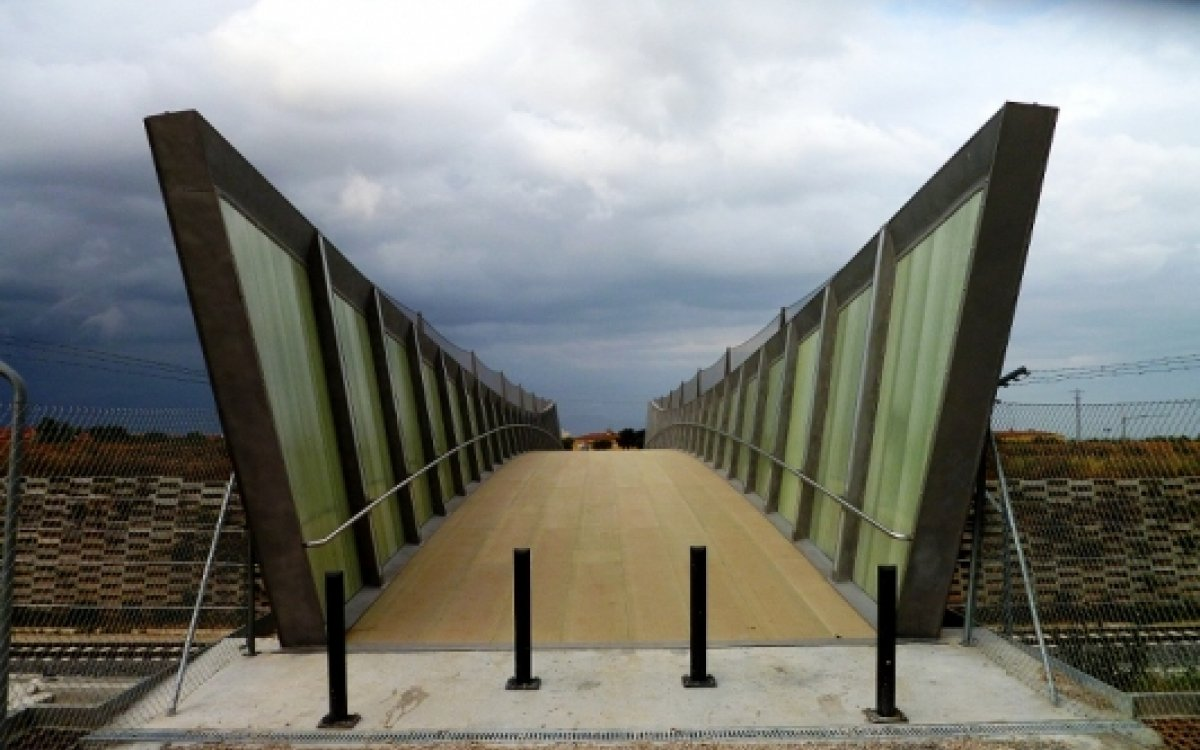 Vilafant Pedestrian Bridges
