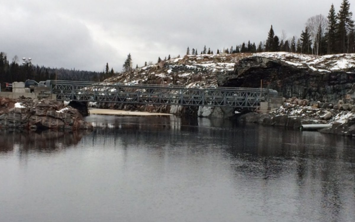 Six Bridges for the White River Hydro Project