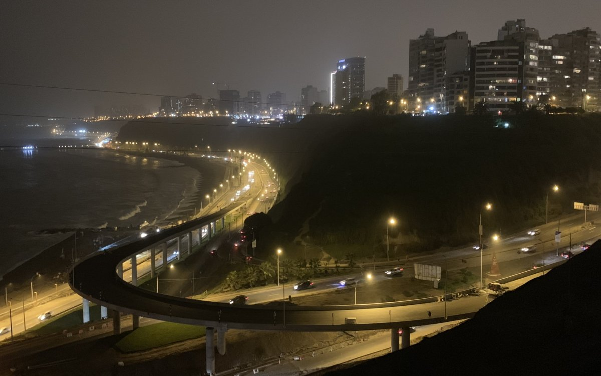 Armendariz Viaduct in Lima